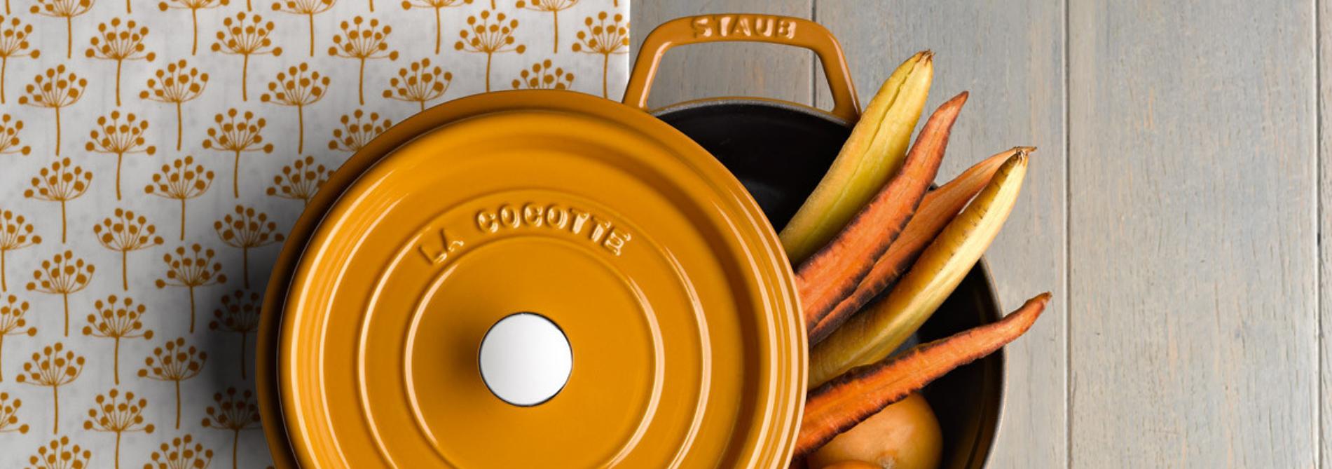 Litinové nádobí Staub Cocotte