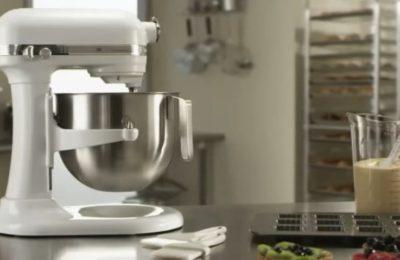 Video – kuchyňský robot KitchenAid Artisan 5KSM7580