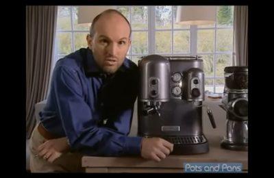 Video – espreso kávovar KitchenAid Artisan 5KPES100