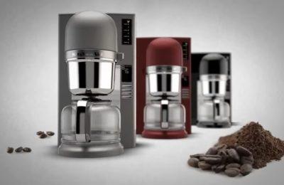 Video – kávovar na přelévanou kávu KitchenAid 5KCM0802