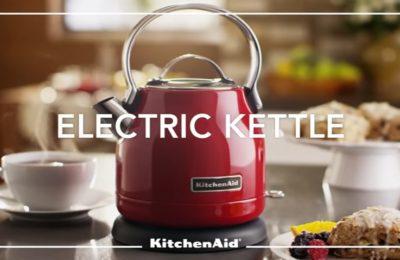 Video – rychlovarná konvice KitchenAid 5KEK1222