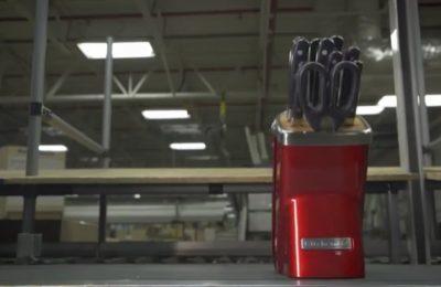 Video – kuchyňské nože KitchenAid