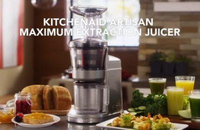 Video – nízkootáčkový odšťavňovač KitchenAid Artisan 5KVJ0111