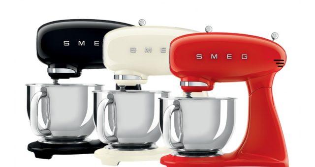 Svěží retro kuchyňské spotřebiče SMEG